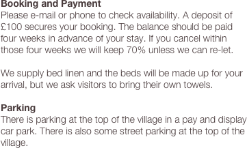 Booking and Payment